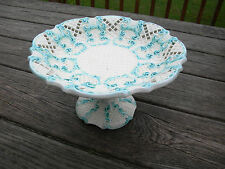Vintage or Antique Villeroy and Boch? Majolica Compote Footed Dish