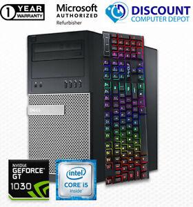 Dell Gaming desktop computer core i5 16GB 512GB SSD windows 10 RGB keyboard WIFI