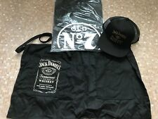 Jack Daniel's Old No.7 Brand BBQ Apron, Old No7 Brand T/Shirt and Honey Cap