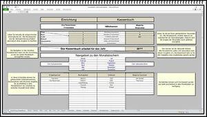 Kassenbuch  Cash book übersichtlich einfache Bedienung auch 5% oder 15% MwSt APP
