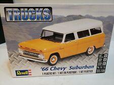 Revell '66 Chevy Suburban Plastic Model Complete Kit Open Box #C-51