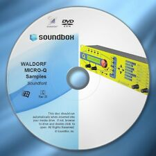 BEST OF WALDORF MICRO-Q SAMPLES - Soundfont SF2 Files & VST Player, SOUNDBOX