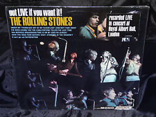 Rolling Stones got LIVE if you want it SEALED ORIG 1966 MONO LP W/ HYPE STICKER
