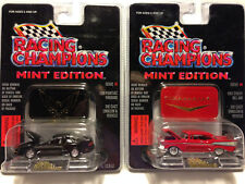 Racing Champions Mint Edition 1996 Pontiac Firebird and 1957 Chevy Bel Air 3 & 4