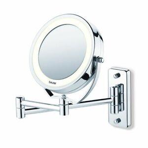 Beurer Miroir cosmétique éclairé lumineux BS49 Argenté Miroir de table