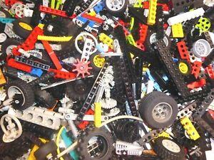 100 LEGO Technic Teile Set Lochstangen Räder Liftarme Zahnräder Technik Konvolut