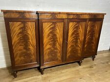 More details for regency style flamed mahogany breakfront sideboard .delivery available most area