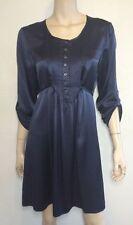 Short 100% Silk Shirt Dresses for Women