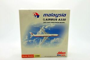 1:500 SCHUCO Star Jets Airbus A330 Air Malaysia