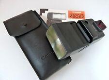 Canon Speedlite 430EZ Blitzgerät Blitz Aufsteckblitz für EOS 10 m. Tasche 430 EZ