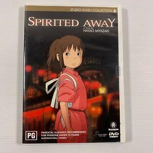 Spirited Away (DVD, 2003, 2-Disc Set) Studio Ghibli Region 4