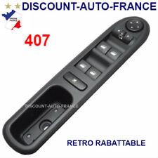 Peugeot 407  commande bouton interrupteur leve vitre  96468704XT -   6554ER