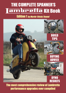 New Stickies Book - The Complete Spanner's – Lambretta Kit Book (Soft Back) NEW
