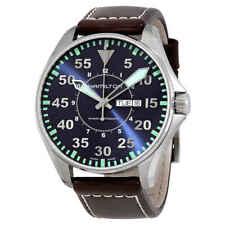 Hamilton Khaki Aviation Pilot Automatic Blue Dial Men's Watch H64715545