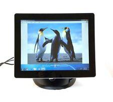 TRu M15A-1101 Desktop 15 Touch Screen Monitor 2 Touch Glass Screen $700 New!!!