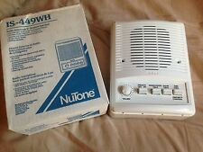 "Nutone IS-449WH Outdoor 5"" Intercom Speaker for im4406 ima4406 im4006 ISA449"