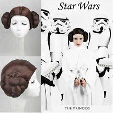 REVENGE OF THE SITH Princess Leia Organa Solo Cosplay Wigs Disney Cos Wig/Hair