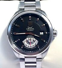 Tag Heuer Grand Carrera Calibre 6 Mens Watch Automatic in Exc Cond. WAV511A