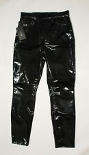 RAG & BONE Vinyl High Rise Skinny Pants Size 29 New with Tags NWT Retail $495!