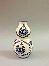 A Blue and White The Bombay Company Ceramic Vase