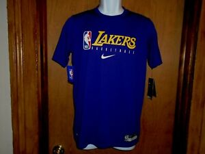Los Angeles Lakers Nike Dri-Fit Youth Size S or L T Shirt NWT
