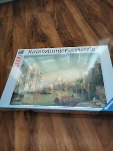 Ravensburger 3000 Piece Jigsaw The Grande Canal Venice New & Sealed