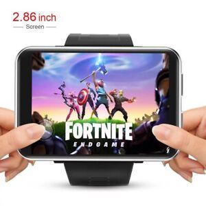 "4G Smart Watch Men Android 2.86"" big Screen GPS WIFI 2700mah battery Valentine"