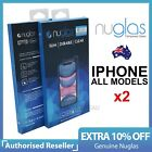 2x Fr Apple iPhone 13 12 11 Pro XS Max XR 8 Plus Tempered Glass Screen Protector
