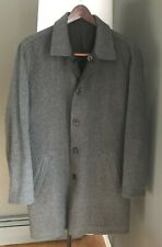 Ermenegildo Zegna Reversible Cashmere Wool/Polyester Jacket Car Coat Medium 50