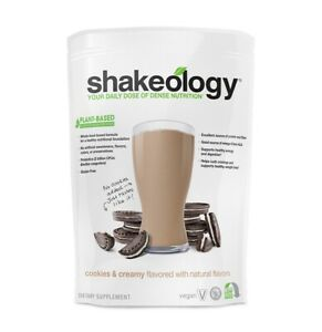 Shakeology Vegan Gluten Free Cookies and Creamy Meal Replacement Exp 12/2021