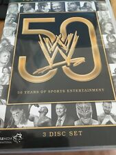 History Of WWE: 50 Years Of Sports Entertainment [DVD] FREE POSTAGE Wrestling