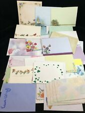 Lot of 56 Decorative Envelopes ~ Variety #2 Flowers Swirls Mice Birds Stars
