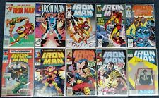 Marvel Comics Iron Man 177 186 216 231 245 250 265 272 275 284 Vibro Dreadnaught