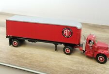 First Gear 1960 Mack Model B-61 Tractor & Trailer AT Associated Transport  1:34