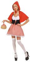 Sexy Rotkäppchen Kostüm NEU - Damen Karneval Fasching Verkleidung Kostüm