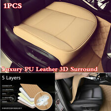 1Pcs Car Front Seat 3D Surrounded Seat Cover Seat Cushion Luxury Leather Pad Mat