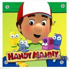 HANDY MANNY LARGE NAPKINS (16) ~ Birthday Party Supplies Dinner Luncheon Disney