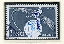 STAMP / TIMBRE FRANCE OBLITERE N° 2073 EUROVISION /