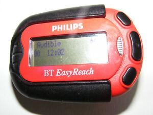 Vintage Philips BT Easyreach Red Pager & Belt Clip