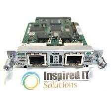 VWIC2-2MFT-T1/E1 - Cisco 2-Port T1/E1 Multiflex Trunk Voice/WAN Interface Card