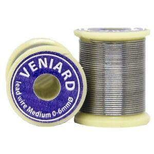 Veniard Lead Wire | Fly Tying Lead Wire | 0.4mm & 0.6mm Diameter