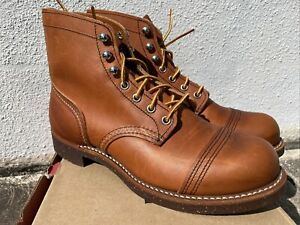 New Red Wing Heritage #8112 Iron Ranger Japan USA Men's Boots Sz - 7.5 D Rare