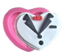 Tuxedo Suit in Heart Shaped Silicone Mold - Chocolate, Candy, Fondant, Crafts