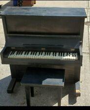 "Antique 1920's Milton ""Tom Thumb"" Piano, New York, New York."