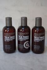 3 PACK. 8.45 oz. American Crew Tea Tree Conditioner. 250ml. NEW. FREE SHIPPING