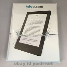 Kobo Aura H2O Waterproof eReader Wi-Fi 6.8'' 4 GB Black Touchscreen F/S