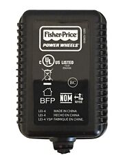 Genuine OEM Fisher-Price Power Wheels (6-Volt) Class 2 Charger (Blue Battery)