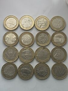 Job Lot of £2 Coins  16 X Collectable Two Pound Coins..