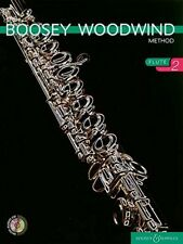 """""""Boosey Woodwind Method Flute Book 2"""" Music Book/Cd-Brand New On Sale-Very Rare"""