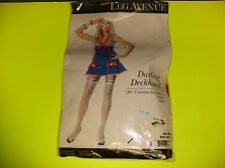 LEG AVENUE DARLING DECKHAND SAILOR WOMEN HALLOWEEN COSTUME MEDIUM/LARGE